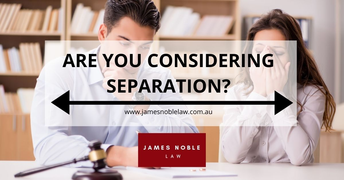 Are You Considering Marriage Separation Process in Australia?