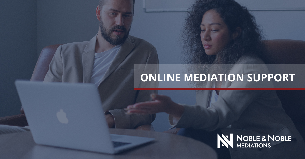 Online Mediation Support