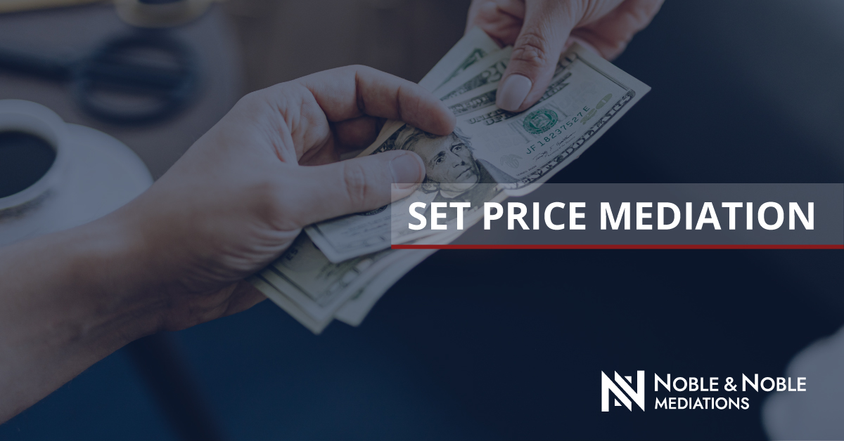 Set Price Mediation